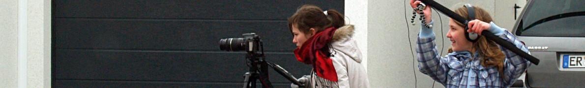 Kamera und Ton - Dreharbeiten zu Voll Verknallt