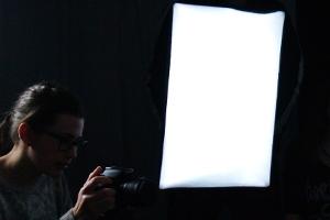 Softbox Energiesparlampe