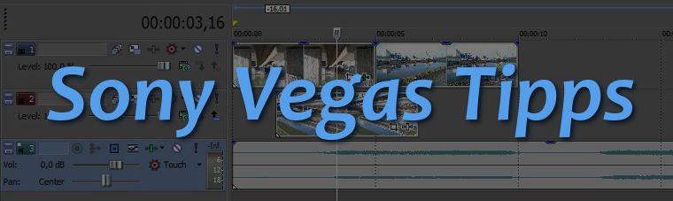 Sony Vegas Tipps Header Image