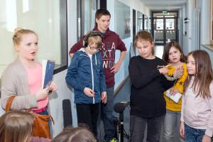 Szene im Schulhaus