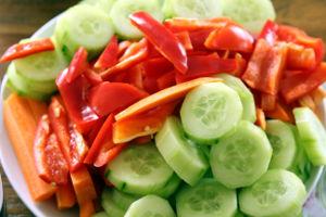 Frisches Gemüse für zwischendurch