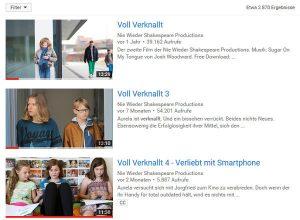 Youtube-Suche