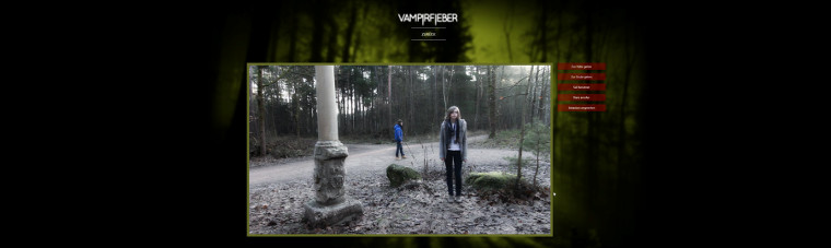 Screenshot des Spiels Vampirfieber Interactive