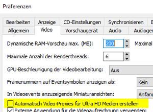 Automatischer Proxy-Workflow für Ultra-HD-Medien